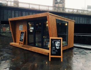 Cafeterías y bares en contenedores