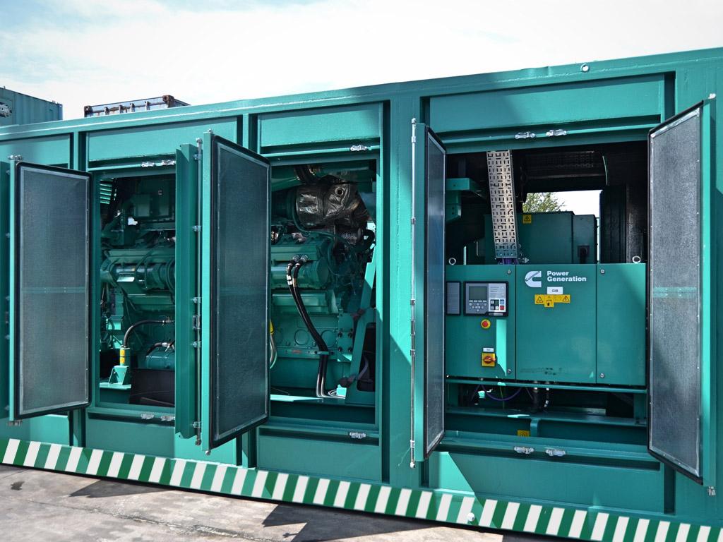 Ventajas contenedores para grupos electrógenos