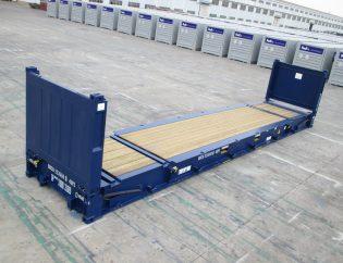 Qué es el contenedor Flat Rack
