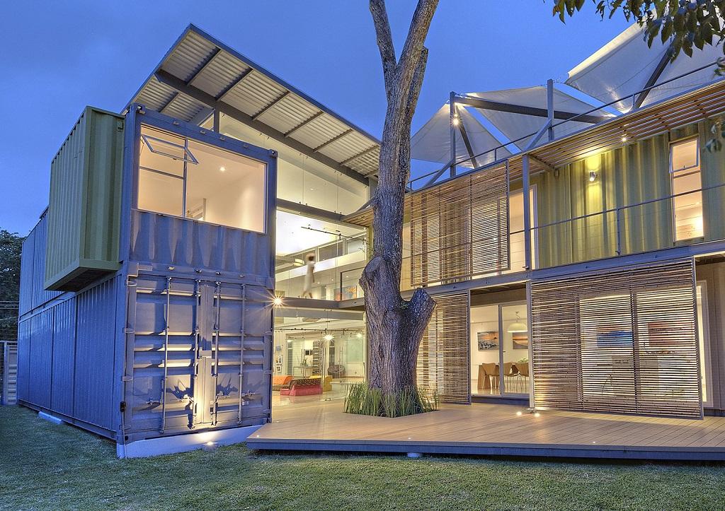 Ventajas casas contenedor y medioambiente