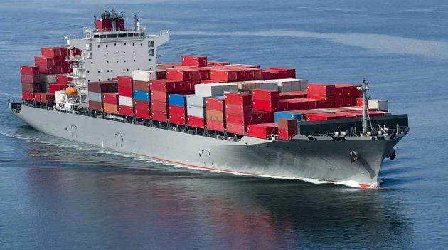 Transporte marítimo en contenedores