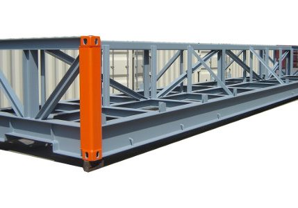 20′ Flat Rack and platforms
